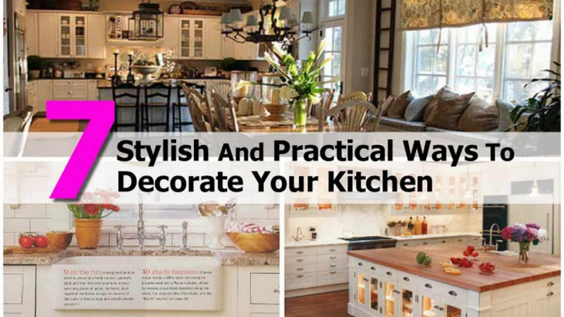 A few remarkable and budget-friendly ways of decorating your kitchen