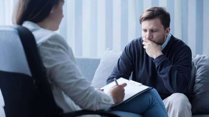 How does a psychiatrist help anxiety patients?